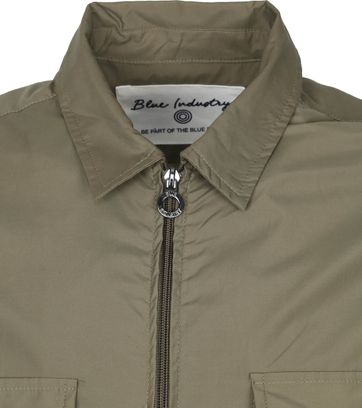 Blue Industry Zip Jack Green
