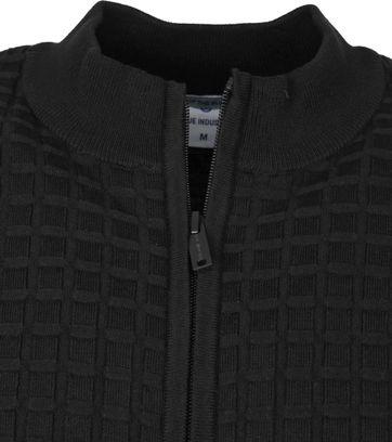 Blue Industry Zip Vest Zwart