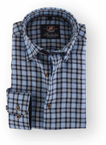 Blue Linen Shirt 105-08