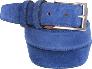Blue Suede Belt 10-04