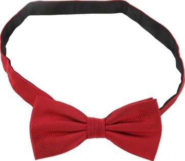 Bow Tie Red Silk