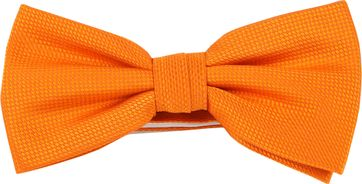 Bow Tie Silk Orange