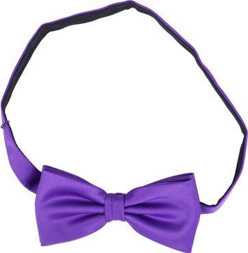 Bow Tie Silk Purple