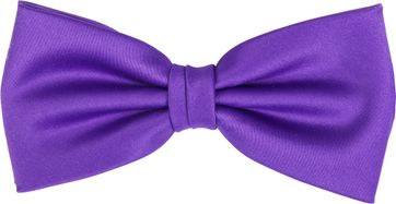 Bow Tie Silk Purple