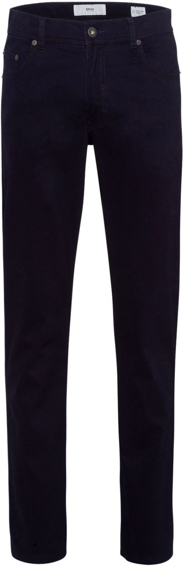 Brax Broek Cooper Fancy Perma Blue