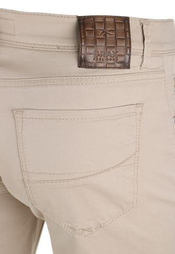 Detail Brax Cadiz Broek Beige