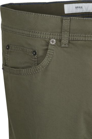 Brax Cooper Chino Dark Green