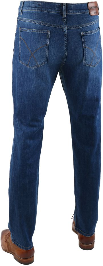 Detail Brax Cooper Denim Jeans Blue Five Pocket