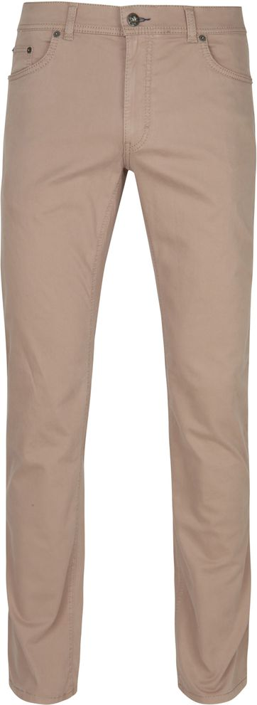 Brax Cooper Fancy Stretch Chino Beige