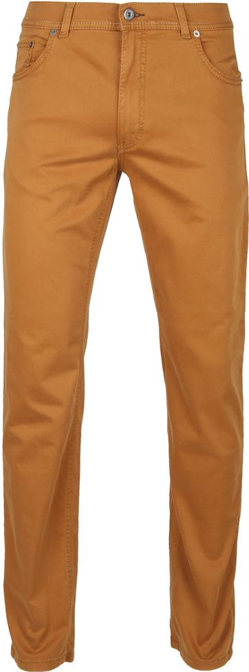 Brax Cooper Flex Trousers Curry