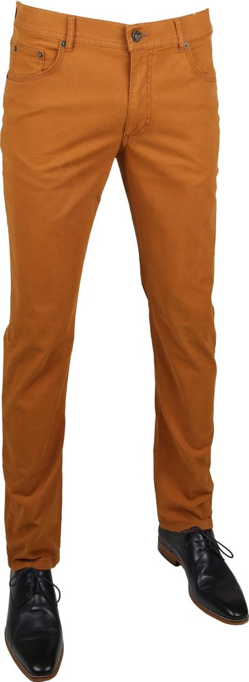Brax Pants Cooper Fancy Brown
