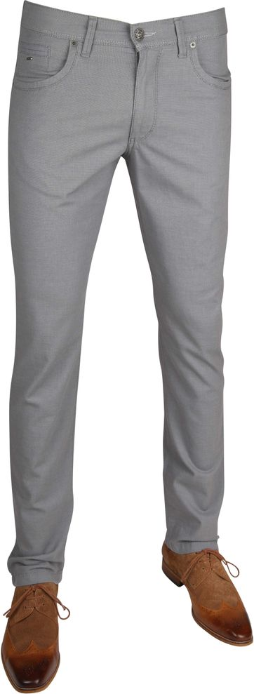Brax Pants Grey Cadiz