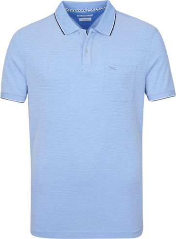 Brax Polo Shirt Paddy Hellblau