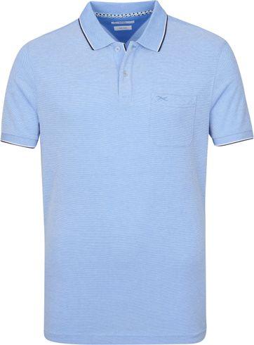 Brax Polo Shirt Paddy Light Blue