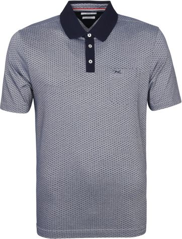 Brax Polo Shirt Pieter Darkblue
