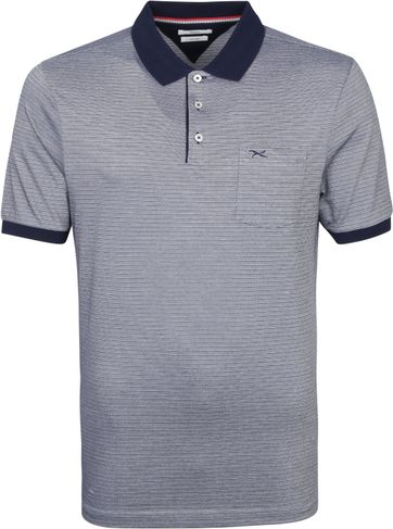 Brax Polo Shirt Pit Darkblue