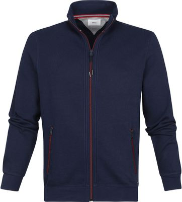 Brax Style Scott Strickjacke Zip Navy