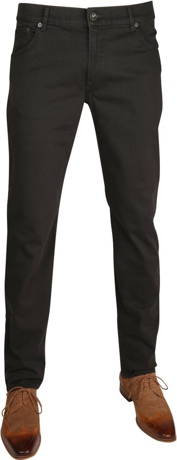 Brax Trousers Chuck Dark Green