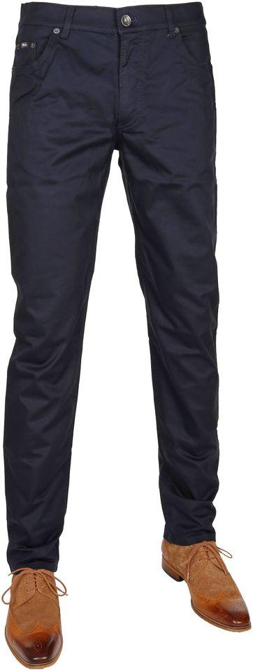 Brax Trousers Cooper Fancy Navy