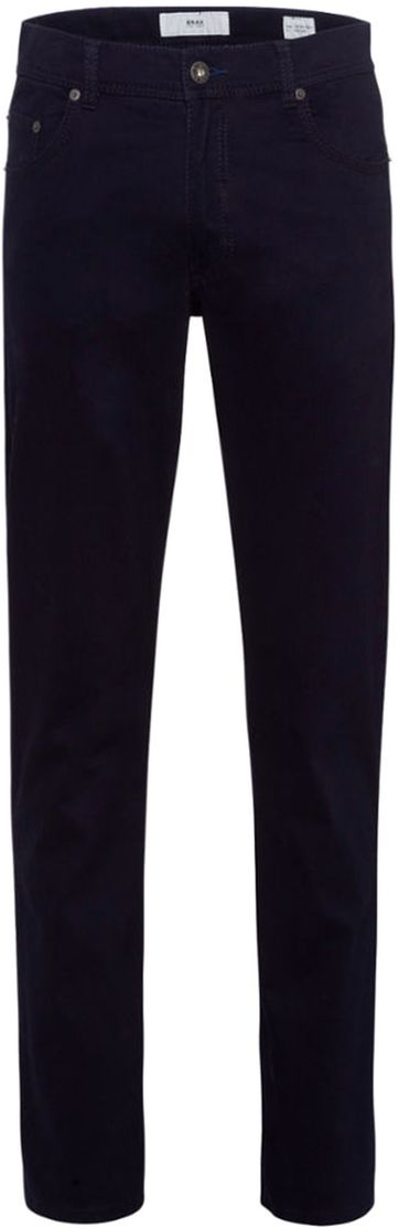 Brax Trousers Cooper Fancy Perma Blue