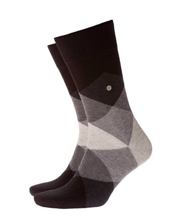 Burlington Clyde Socken Grau