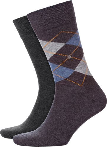 Burlington Everyday 2-Pack Dark Grey Melange 3081