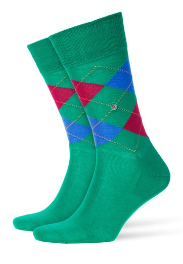 Burlington Manchester Sock Green 7231