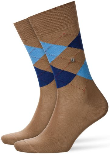 Burlington Manchester Sock Rosewood 5066