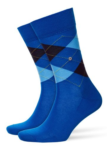 Burlington Manchester Socken Kariert 6061