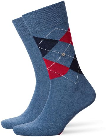 Burlington Socken Everyday Blau