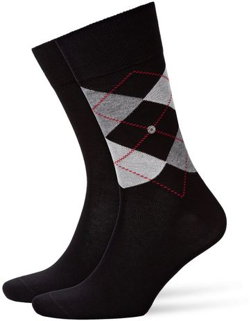 Burlington Socken Everyday Schwarz