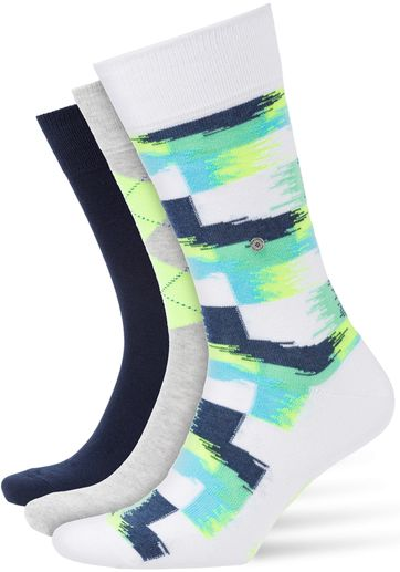 Burlington Socken Gift Pack Neon