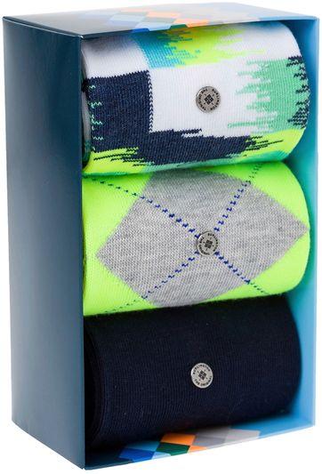 Burlington Socken Gift Pack Neon