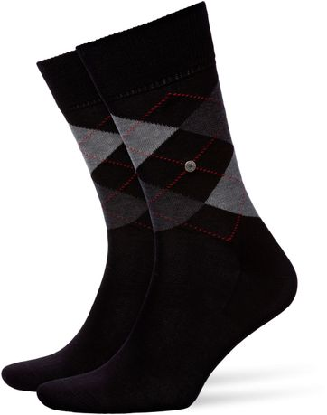 Burlington Socken Kariert Baumwolle 3000