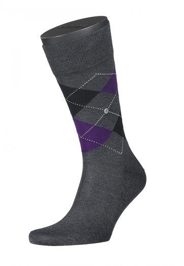 Burlington Socken Kariert Baumwolle 3089