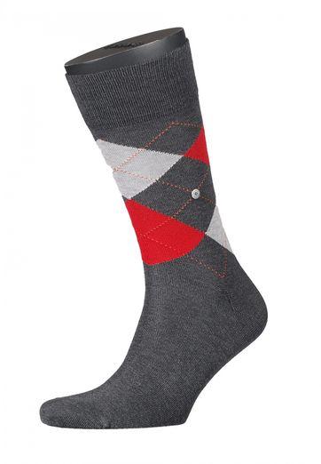Burlington Socken Kariert Mercerised Baumwolle 3900