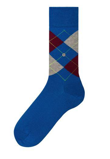 Burlington Socken Manchester Blau