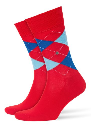Burlington Socken Manchester Rot