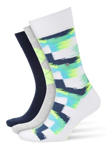 Burlington Socks Gift Pack Neon