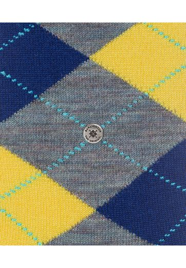 Detail Burlington Sokken Edinburgh Grijs