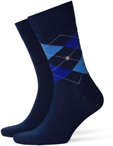 Burlington Sokken Everyday Blauw