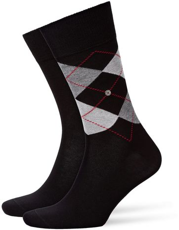 Burlington Sokken Everyday Zwart