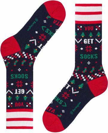 Burlington Sokken Kerst