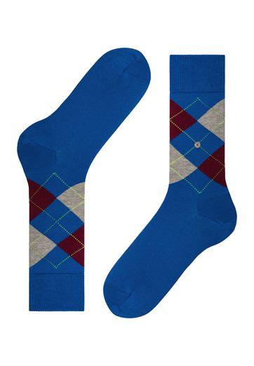Detail Burlington Sokken Manchester Blauw