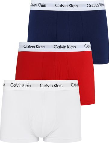 Calvin Klein Boxer Shorts Low Rise 3-Pack