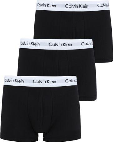 Calvin Klein Boxershorts Classic Fit Black 3-Pack