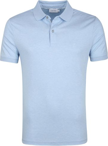 Calvin Klein Light Blue Poloshirt