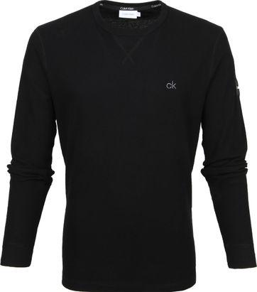 Calvin Klein O-Ausschnitt Schwarz