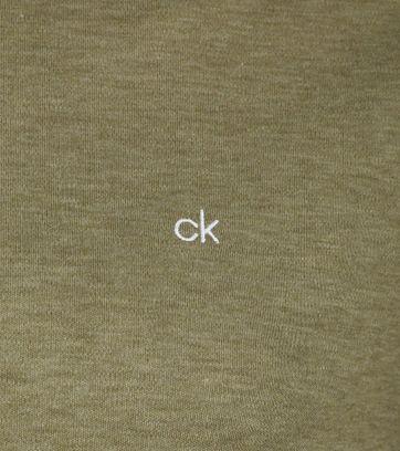 Calvin Klein Polo Dunkelgrün