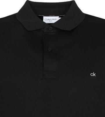 Calvin Klein Polo Shirt Slim Black